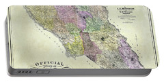 Sonoma County Map 1900 Portable Battery Charger