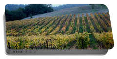 Sonoma County Vineyards Near Healdsburg Portable Battery Charger