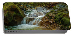 Portable Battery Charger featuring the photograph Sonoma Valley Creek by Bill Gallagher