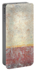 Sonoran Desert #2 Southwest Vertical Landscape Original Fine Art Acrylic On Canvas Portable Battery Charger