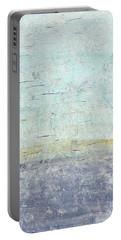 Sonoran Desert #3 Southwest Vertical Landscape Original Fine Art Acrylic On Canvas Portable Battery Charger