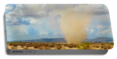Sonoran Desert Dust Devil Portable Battery Charger