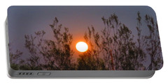 Sonoran Desert Harvest Moon Portable Battery Charger