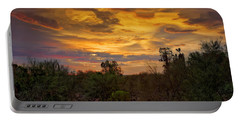 Portable Battery Charger featuring the photograph Sonoran Sonata H01 by Mark Myhaver