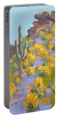 Sonoran Springtime Portable Battery Charger