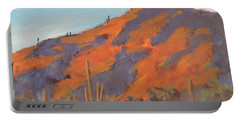 Sonoran Sunset - Art By Bill Tomsa Portable Battery Charger