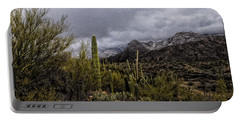 Sonoran Winter No.3 Portable Battery Charger