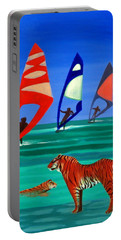 Tigers Sons Of The Sun Portable Battery Charger