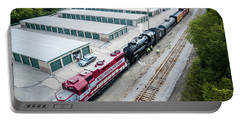 Portable Battery Charger featuring the photograph Soo 1003 At Waukesha by Randy Scherkenbach