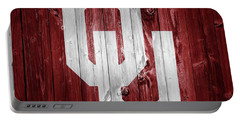 Sooners Barn Door Portable Battery Charger