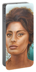 Sophia Loren Portable Battery Charger