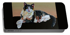 Sophie Poses Pretty Portable Battery Charger by Susan Duda