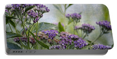 Sophies Garden Portable Battery Charger by HH Photography of Florida