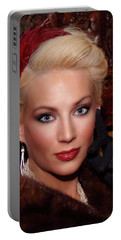 Sophisticated Lady Portable Battery Charger by Jimmy Ostgard