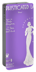 Sophisticated Lady Sheet Music Art Portable Battery Charger