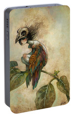 Soul Of A Bird Portable Battery Charger by Caroline Jamhour