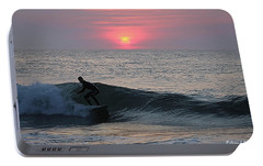 Portable Battery Charger featuring the photograph Soul Surfer by Robert Banach