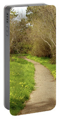 Portable Battery Charger featuring the photograph Sour Grass Trail by Art Block Collections