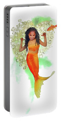 South African Mermaid Portable Battery Charger