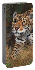 South American Jaguar Big Cat Portable Battery Charger