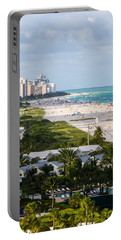 South Beach Late Afternoon Portable Battery Charger