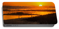 South Beach Sunset    Rvr Portable Battery Charger