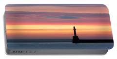 South Breakwater At Dawn Portable Battery Charger
