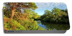 South Creek Near Nokomis, Southwest Florida, United States Portable Battery Charger