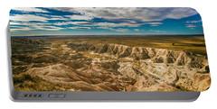 South Dakota Bad Lands.... Portable Battery Charger