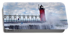 South Haven Lighthouse Portable Battery Charger