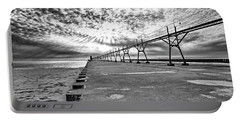 South Haven Pier Wide Angle Portable Battery Charger