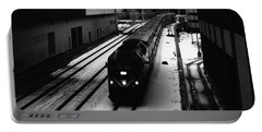 South Loop Railroad Portable Battery Charger by Kyle Hanson
