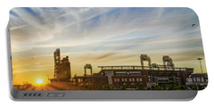 South Philly Sunrise - Citizens Bank Park Portable Battery Charger