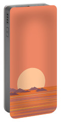 Portable Battery Charger featuring the digital art South Sea Islands by Val Arie