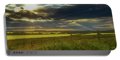 Southern Alberta Crop Land Portable Battery Charger