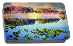 Portable Battery Charger featuring the photograph Southern Beauty by Debra and Dave Vanderlaan