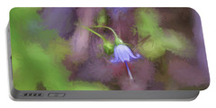 Portable Battery Charger featuring the photograph Southern Harebell Wildflower by Kerri Farley