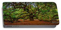 Angel Oak In Charleston Portable Battery Charger