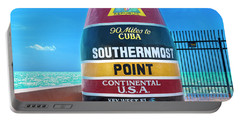 Southern Most Point Florida Keys Portable Battery Charger
