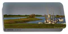 Southport Marina Sunrise Portable Battery Charger