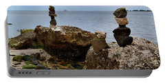 Southport Rock Art Portable Battery Charger
