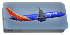 Southwest Boeing 737-8 Max N8708q Phoenix Sky Harbor October 10 2017 Portable Battery Charger