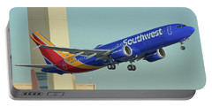 Southwest Boeing 737-8 Max N8709q Phoenix Sky Harbor October 2 2017 Portable Battery Charger