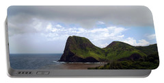 Portable Battery Charger featuring the photograph Southwest Coast Of Maui by Patricia Griffin Brett