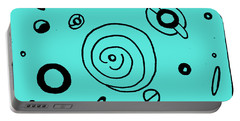 Space Doodle Portable Battery Charger