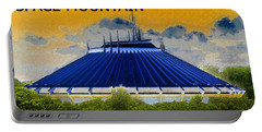 Space Mountain Portable Battery Charger by David Lee Thompson