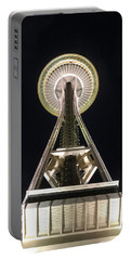 Space Needle Portable Battery Charger