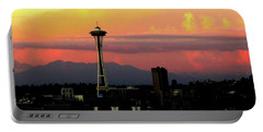 Space Needle Horizon Portable Battery Charger
