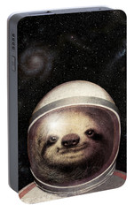 Space Sloth Portable Battery Charger by Eric Fan