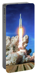 Spacex Falcon Heavy Rocket Launch Portable Battery Charger